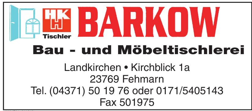 Barkow Bau und Möbeltischlerei
