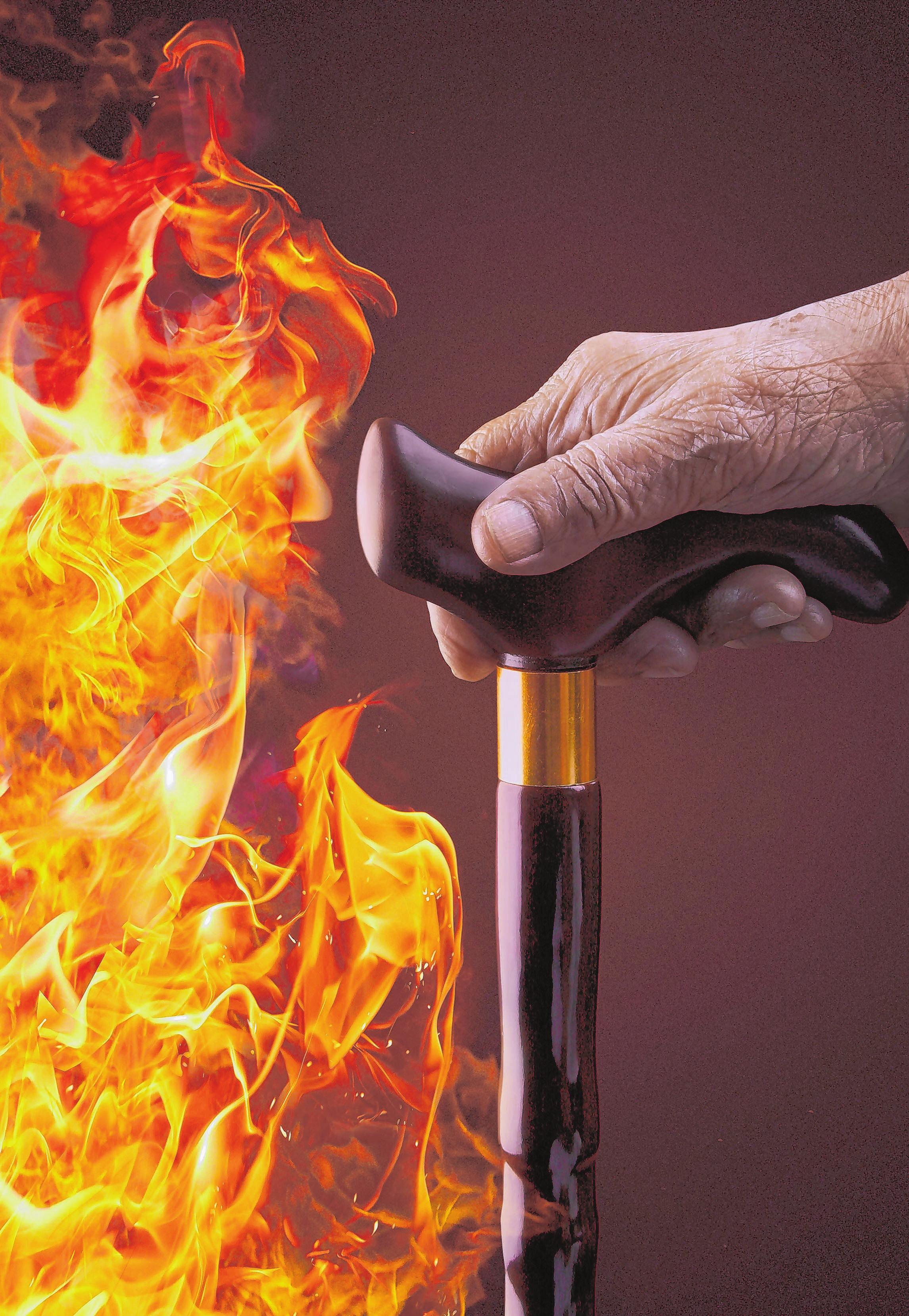 """Senioren sind in einem Brandfall besonders gefährdet. Foto: Initiative """"Rauchmelder retten leben"""""""