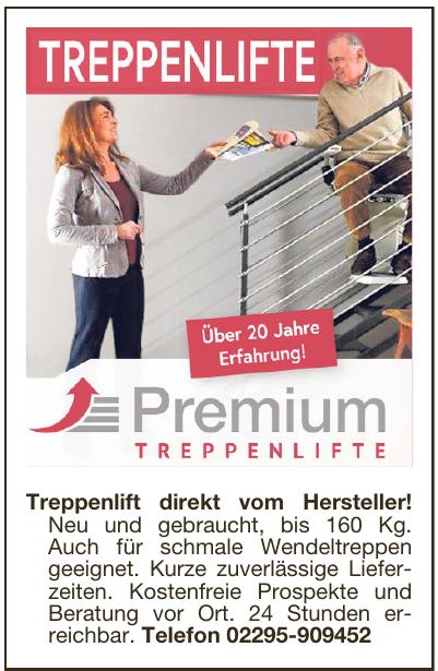 Premium Treppenlifte