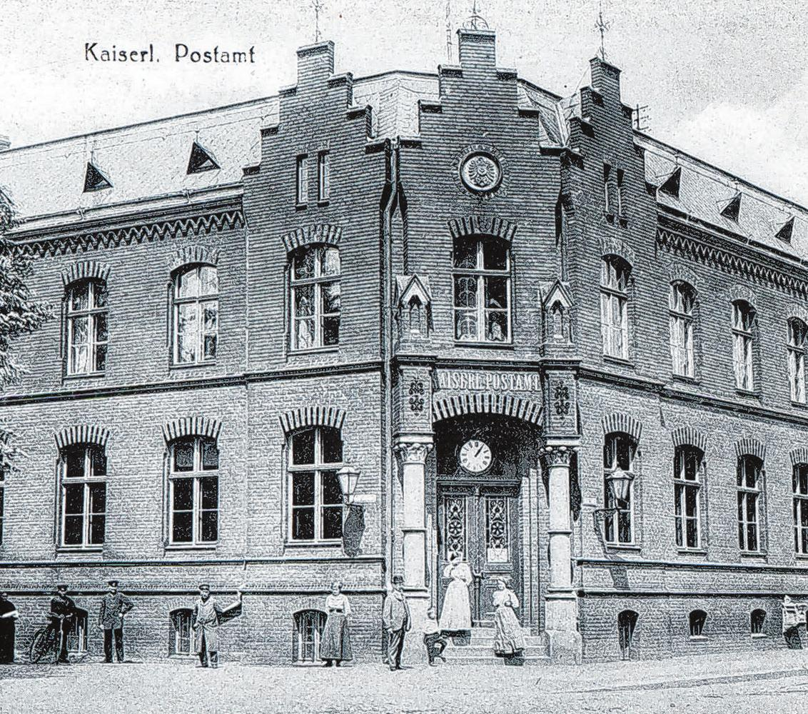 Eine historische Aufnahme aus früheren Post-Zeiten.