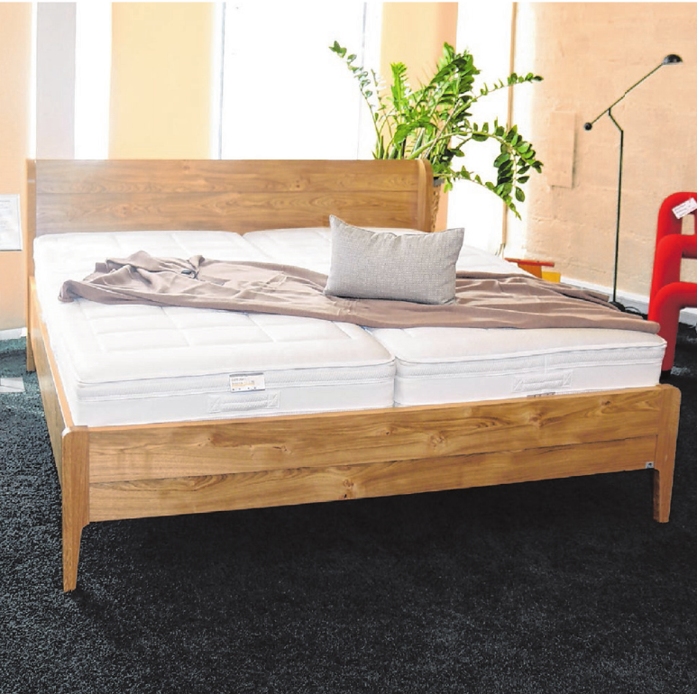 Imig's Schlummerland bietet auch Betten der Firma Reichert an. Derzeit können viele Modelle günstiger erworben werden.