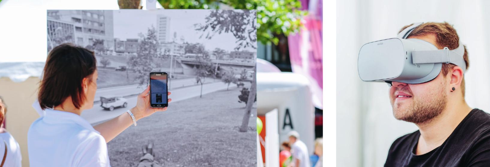 Viele Projekte aus #WolfsburgDigital wurden den Wolfsburgern zum Ausprobieren und Erleben beim diesjährigen Stadtfest zu 80 Jahre Wolfsburg vorgestellt. Fotos: Janina Snatzke