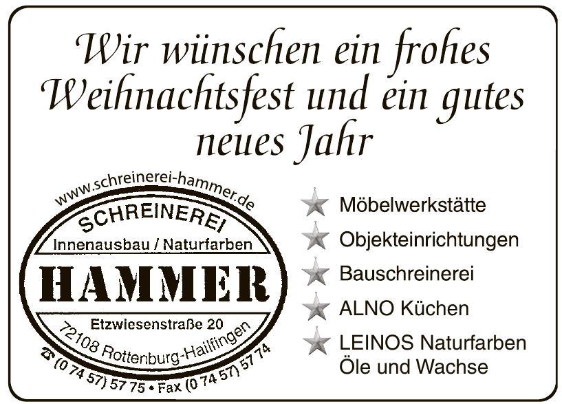 Peter Hammer Schreinerei Innenausbau
