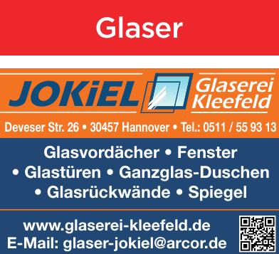 Jokiel Glaserei Kleefeld