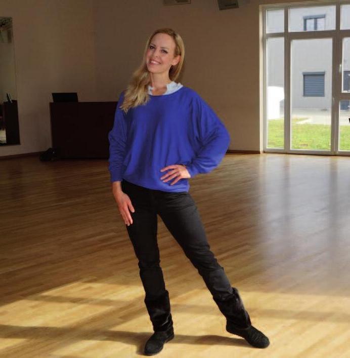 Isabel Edvardsson liebt die großzügigen Räume im Ahrensburger Gewerbegebiet am Beimoorw. Foto: Petra Sonntag