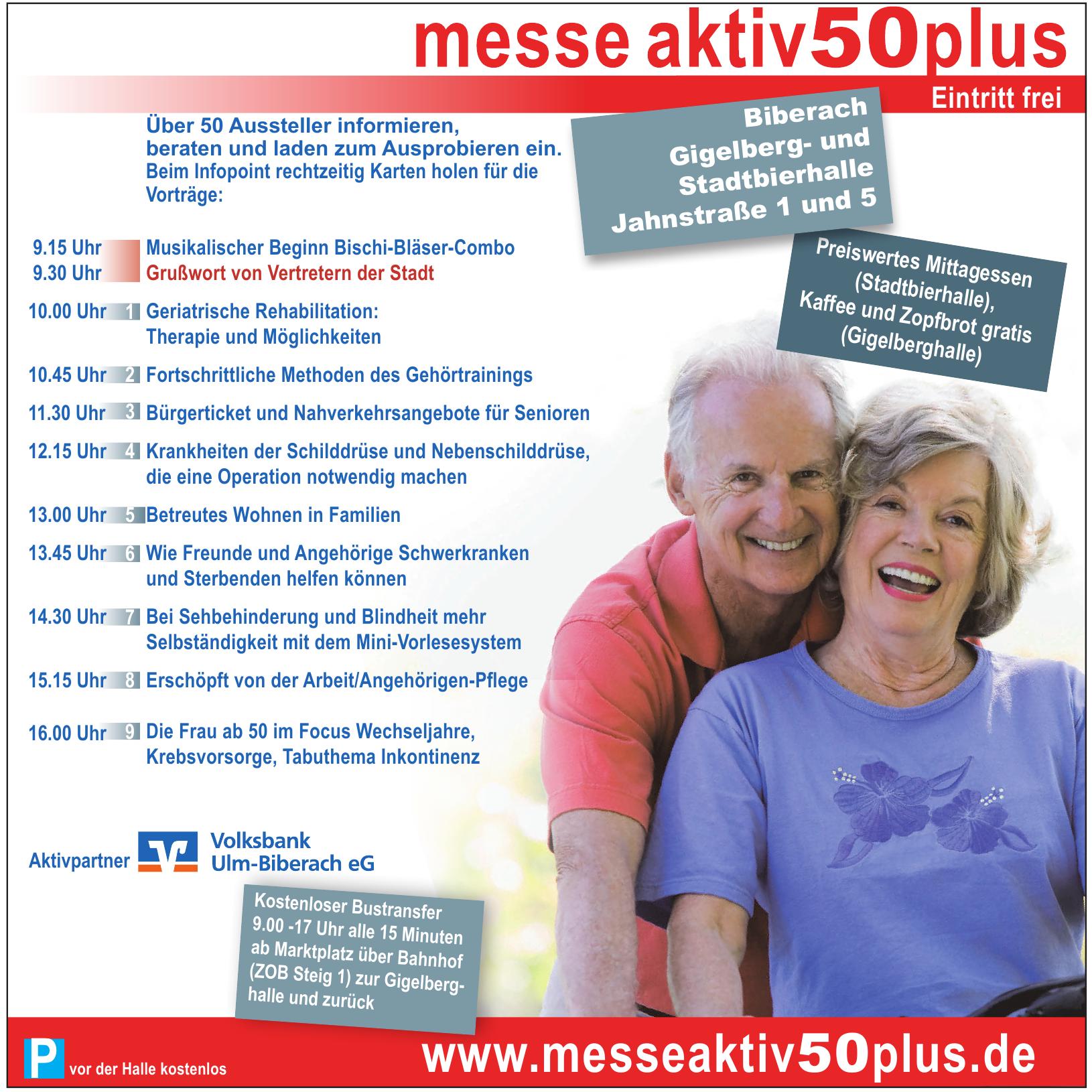 messe aktiv50plus