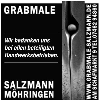 Grabmale Salzmann Möhringen