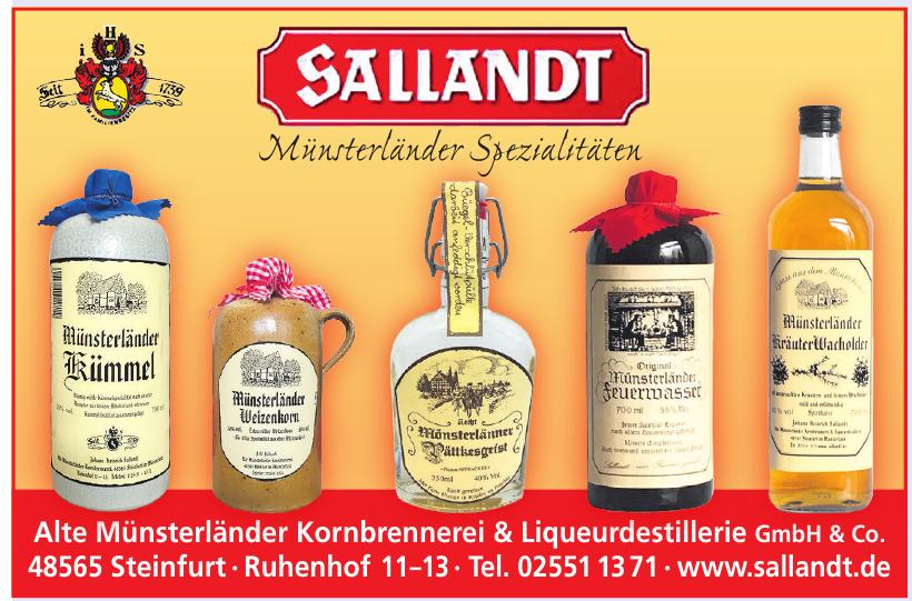 Alte Münsterländer Kornbrennerei  & Liqueurdistillerie GmbH & Co.