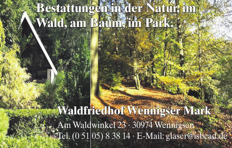 Waldfriedhof Wennigser Mark