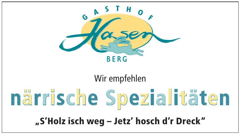 Gasthof Hasen Berg