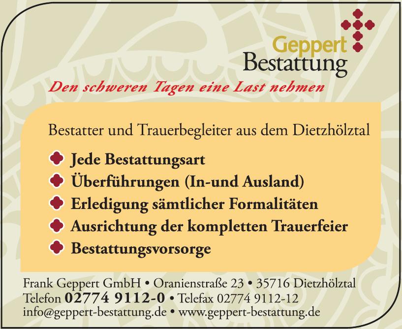 Frank Geppert GmbH