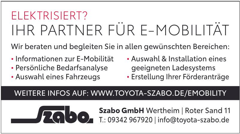 Szabo GmbH Wertheim