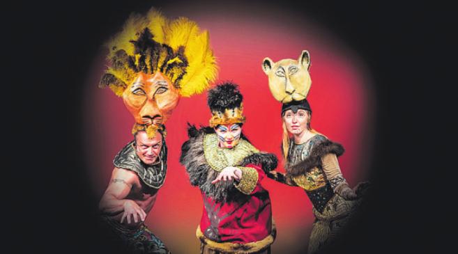 """Am Sonntag werden bei Schulenburg in Wentorf Musical-Highlights u.a. aus Disneys """"Der König der Löwen"""" gezeigt"""