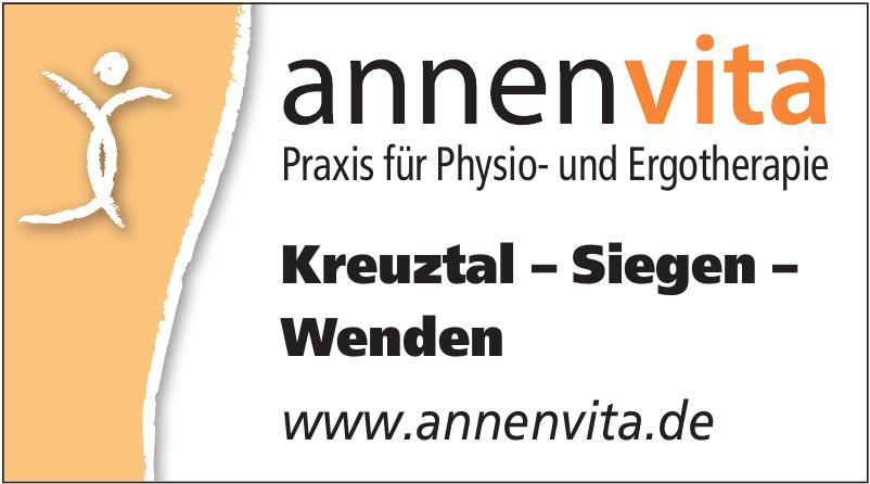 annen vita Praxis für Physio- und Ergotherapie