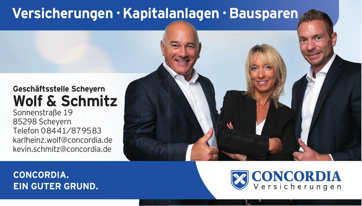 Concordie - Geschäftsstelle Scheyern Wolf & Schmitz