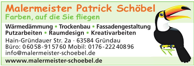 Patrick Schöbel Maler- und Lackierermeister