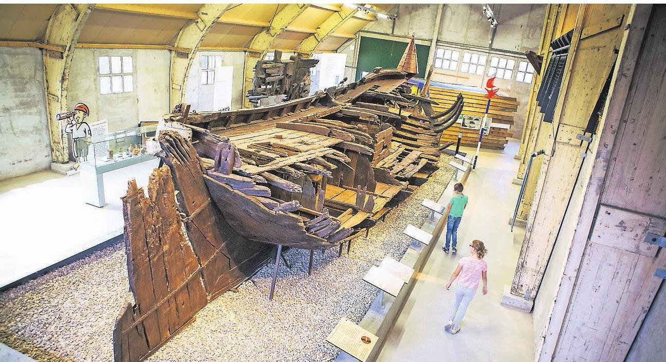 Das Batavialand führt Besucher durch die Geschichte der Schifffahrt. Foto: Batavialand