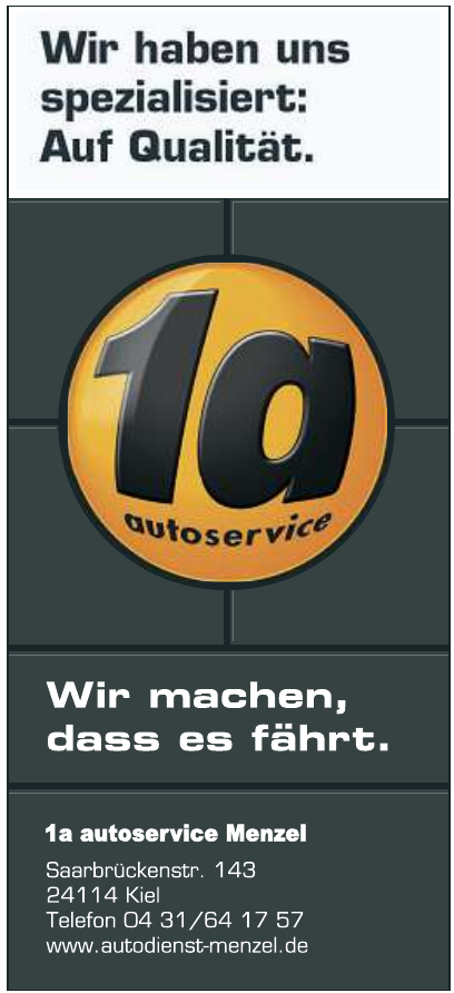 1a autoservice Menzel