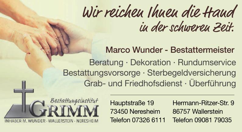 Bestattungsinstitut Grimm