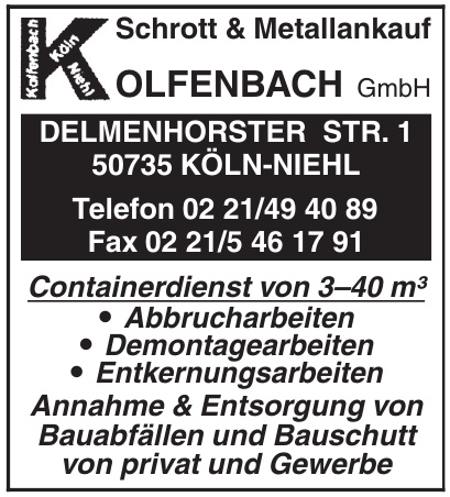 G. Kolfenbach GmbH