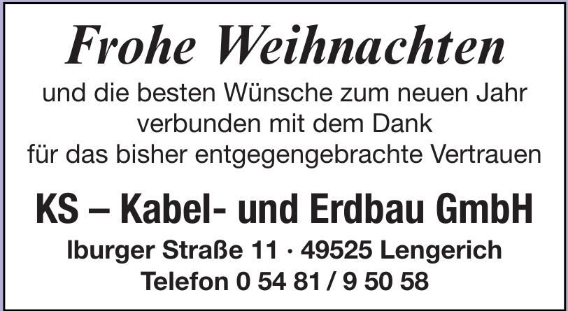 KS - Kabel- und Erdbau GmbH