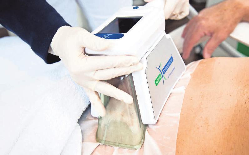 Vakuum-Kryolipolyse – das wirksamste Verfahren, um Fettzellen abzubauen.