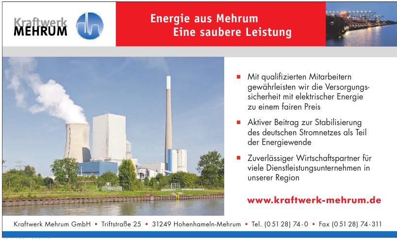 Kraftwerk Mehrum GmbH