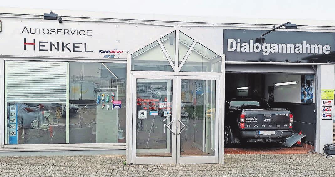 Die Werkstatt Autoservice Henkel im Gewerbegebiet Grootkoppel in Reinfeld gibt es seit zehn Jahren. Foto:Henkel
