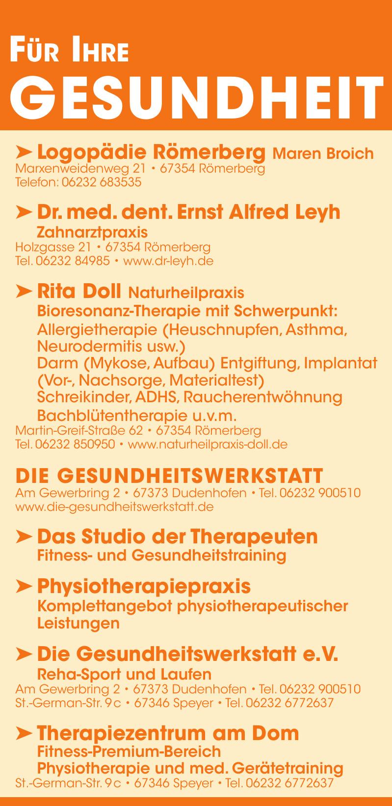 Logopädie Römerberg Maren Broich