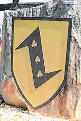 Das Jubiläums-Wappen weist den Weg zur 825-Jahr-Feier