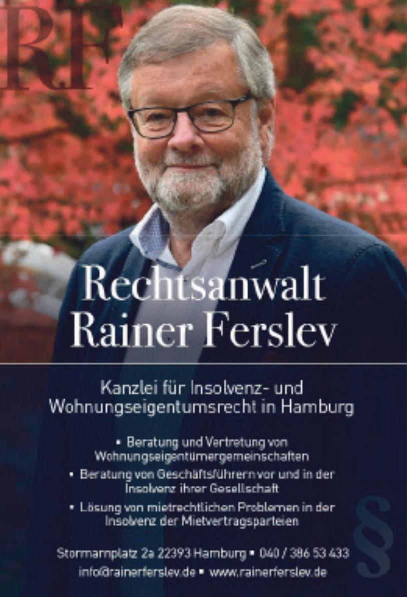 Rechtsanwalt Rainer Ferslev
