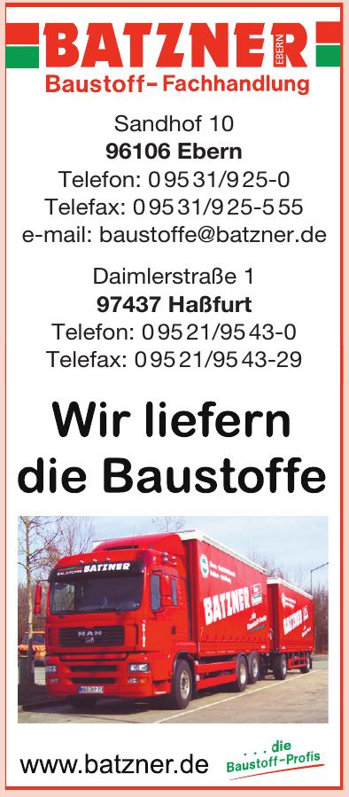 Batzner Baustoff-Fachhandlung Ebern