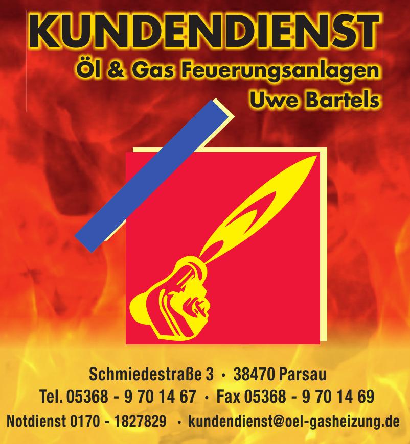 Kundendienst Öl & Gas Feuerungsanlagen Uwe Bartels