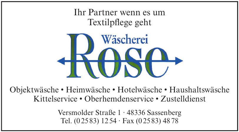 Wäscherei Rose GmbH & Co. KG