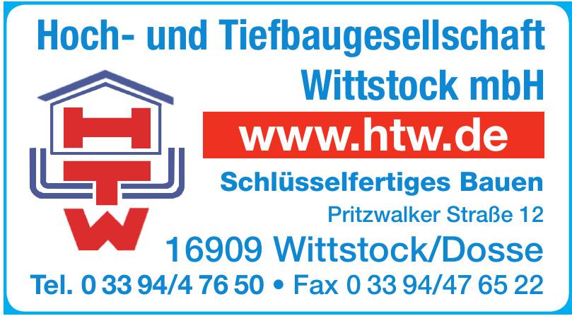 Hoch- und Tiefbaugesellschaft Wittstock mbH