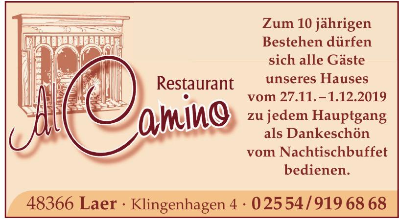Restaurant Al Camino