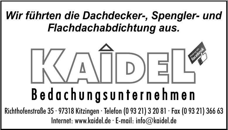 Kaidel Bedachungsunternehmen