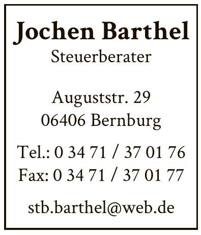 Jochen Barthel Steuerberater