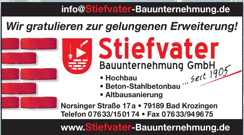 Stiefvater Bauunternehmung GmbH