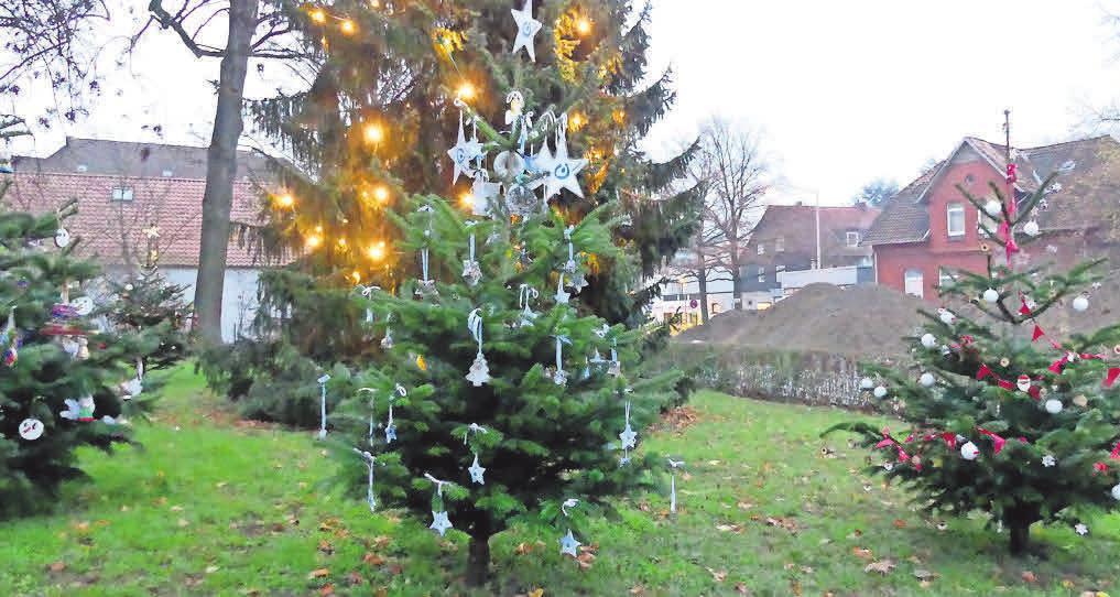 Die Entscheidung sei der Jury schwergefallen, teilte der GKK-Vorsitzende Peter Busche mit. Die Schmückenden hatten sich bei jedem der aufgestellten Bäume große Mühe gegeben, diesen liebevoll zu gestalten.