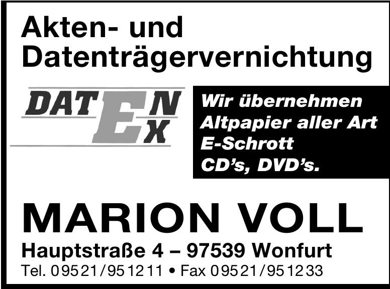 Marion Voll