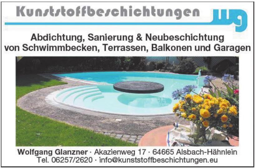 Kunststoffbeschichtungen Wolfgang Glanzner