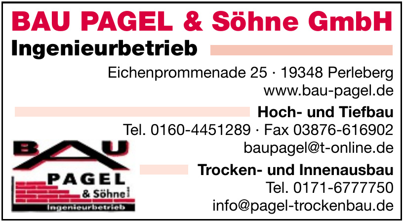 BAU PAGEL & Söhne GmbH