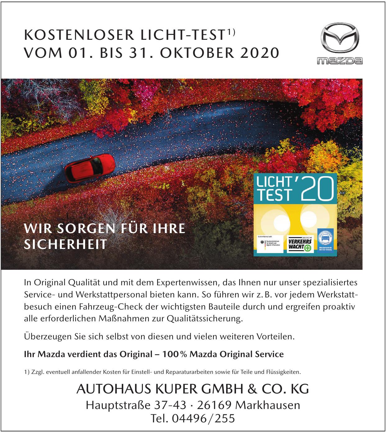 Autohaus Kuper Gmbh & Co. KG
