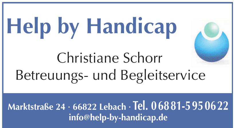 Help by Handicap Christiane Schorr Betreuungs- und Begleitservice