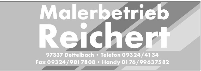 Malerbetrieb Reichert