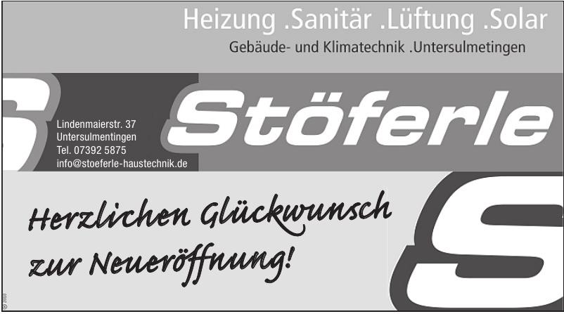 Stöferle Haustechnik GmbH & Co. KG