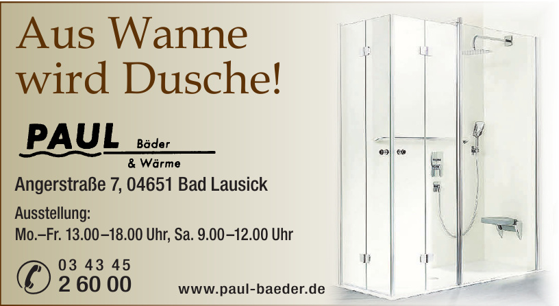 Paul Bäder & Wärme