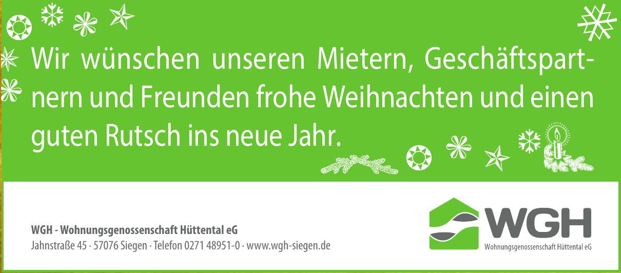 WGH - Wohnungsgenossenschaft Hüttental eG