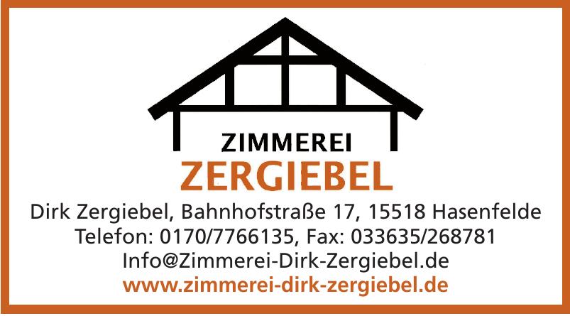 Dirk Zergiebel